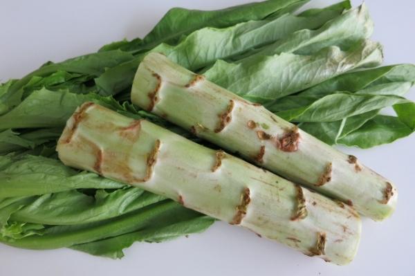 Asparagus Lettuce Recipe : Chinese Medicine Living
