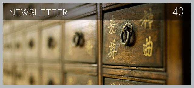 Chinese Medicine Living Newsletter