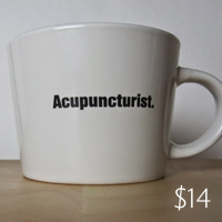 Acupuncturist. Mug