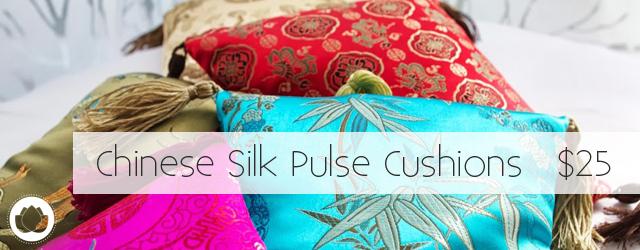 Chinese Silk Pulse Cushion