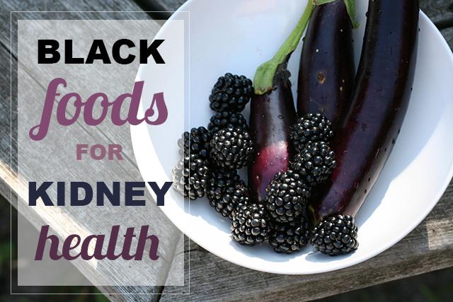 Black Foods for Kidney Health